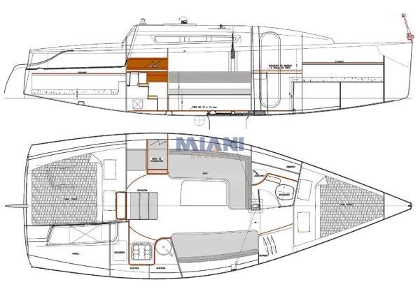 velero Corum 285