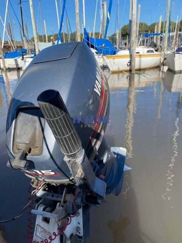 velero Eitin - motor Yamaha 15hp @mianibarcos